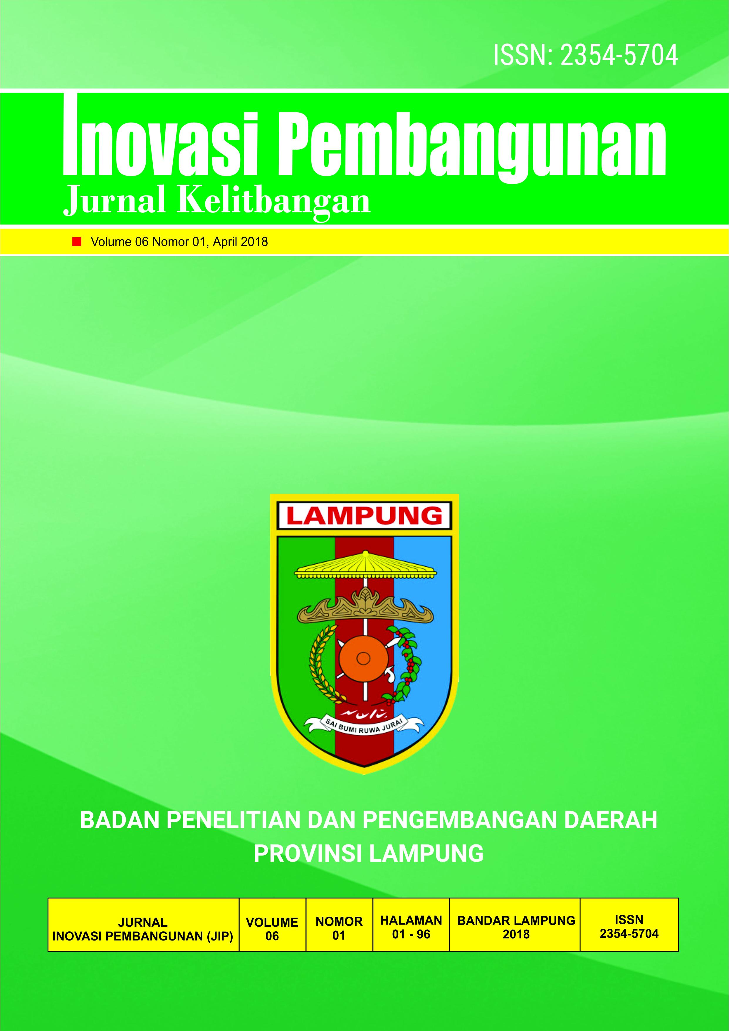 Cover Jurnal Volume 06 Nomor 01